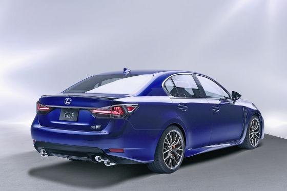 Lexus GS F Heckansicht