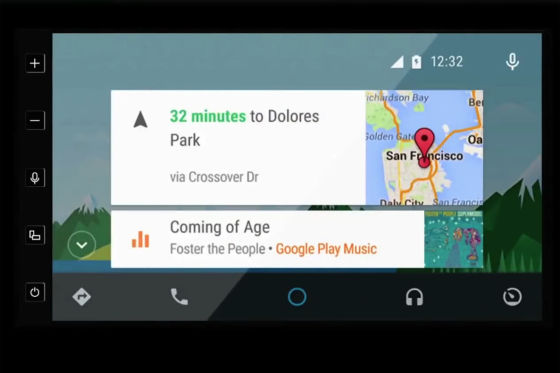 Parrot RNB 6 mit Android Auto