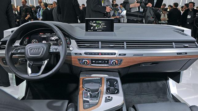 Video: Audi Q7 Interieur - autobild.de