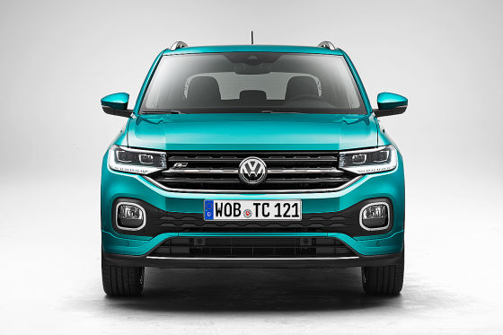VW Polo SUV T-Cross Illustration