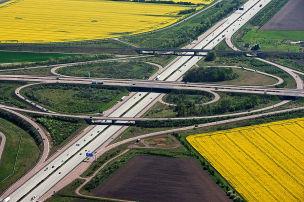 13.000 Kilometer Autobahn