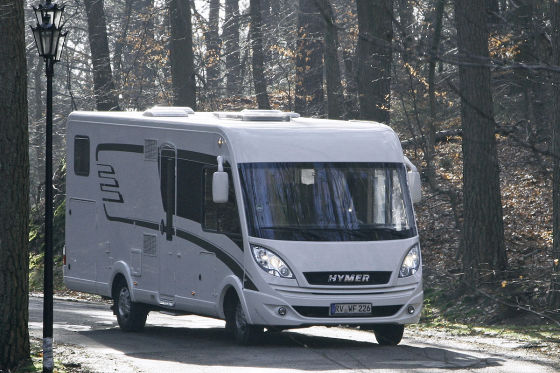 b rstner viseo i 720 g hymer b 678 wohnmobil test. Black Bedroom Furniture Sets. Home Design Ideas