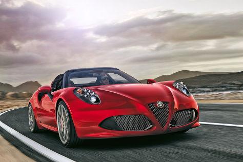 Preis Alfa Romeo 4c Spider Das Kostet Der Offene 4c