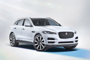 F-Pace mit Offroad-Assistenten