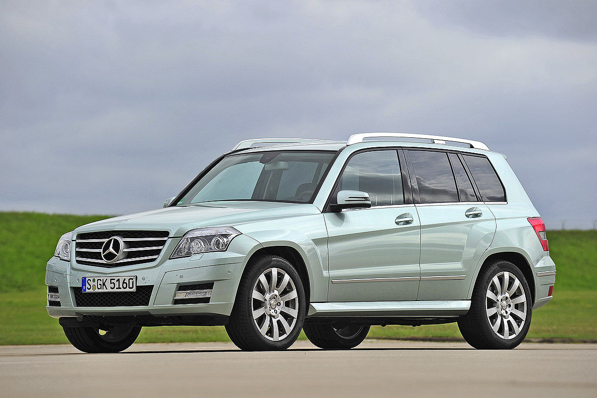 SUV-Ranking: Mercedes GLK-Klasse