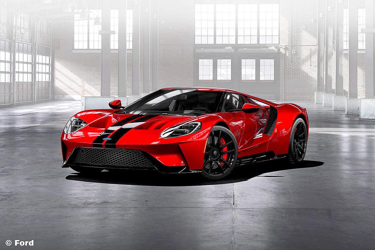 Ford GT (2016): Vorschau und Marktstart