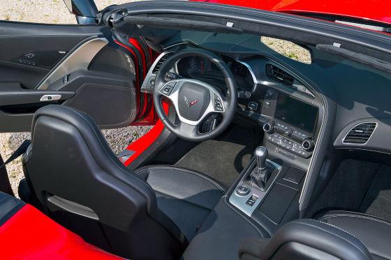 Corvette C7 Stingray Cabrio (Detroit 2015): Fahrbericht
