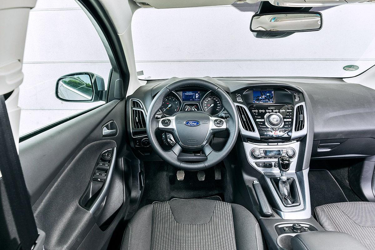 Ford Focus 1.0 EcoBoost Titanium, Cockpit