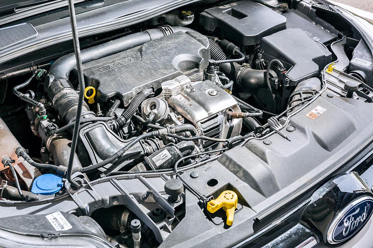 Ford Focus 1.0 EcoBoost Titanium, Motor