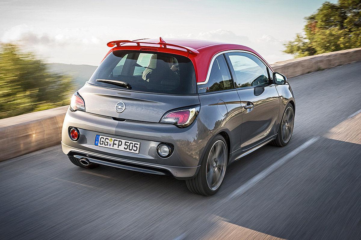 Opel Adam S (2015): Fahrbericht