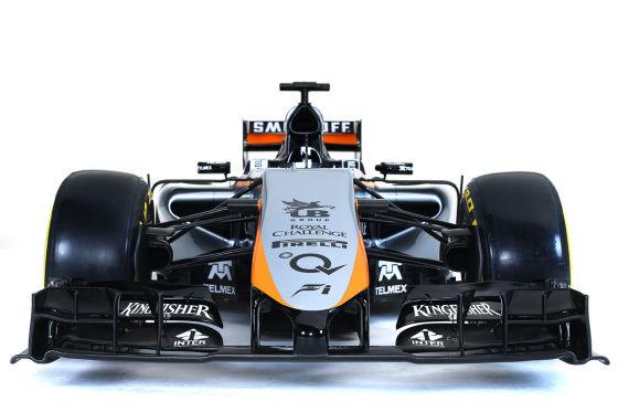 Force India VJM08 Saison 2015