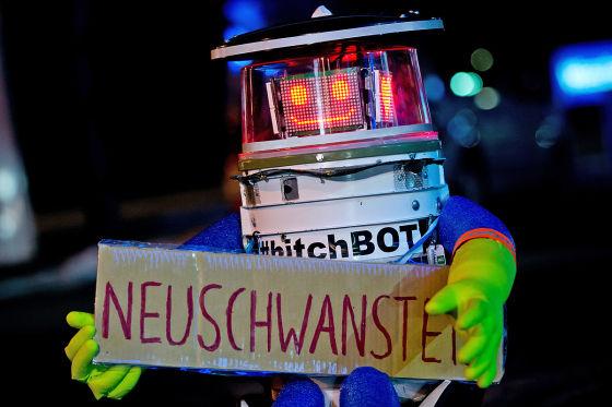 Hitchbot auf Deutschland-Tour