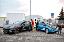 VW und BMW bauen E-Auto-Ladenetz