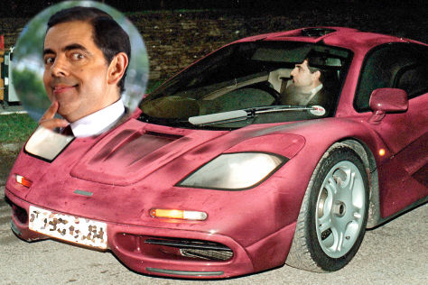 elf millionen euro: mr. bean verkauft seinen mclaren f1 - autobild.de
