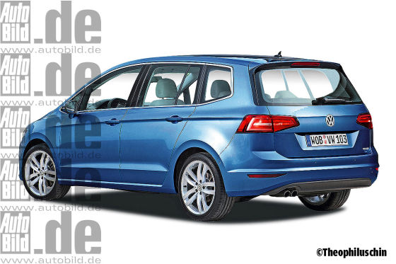 VW Touran Illustration