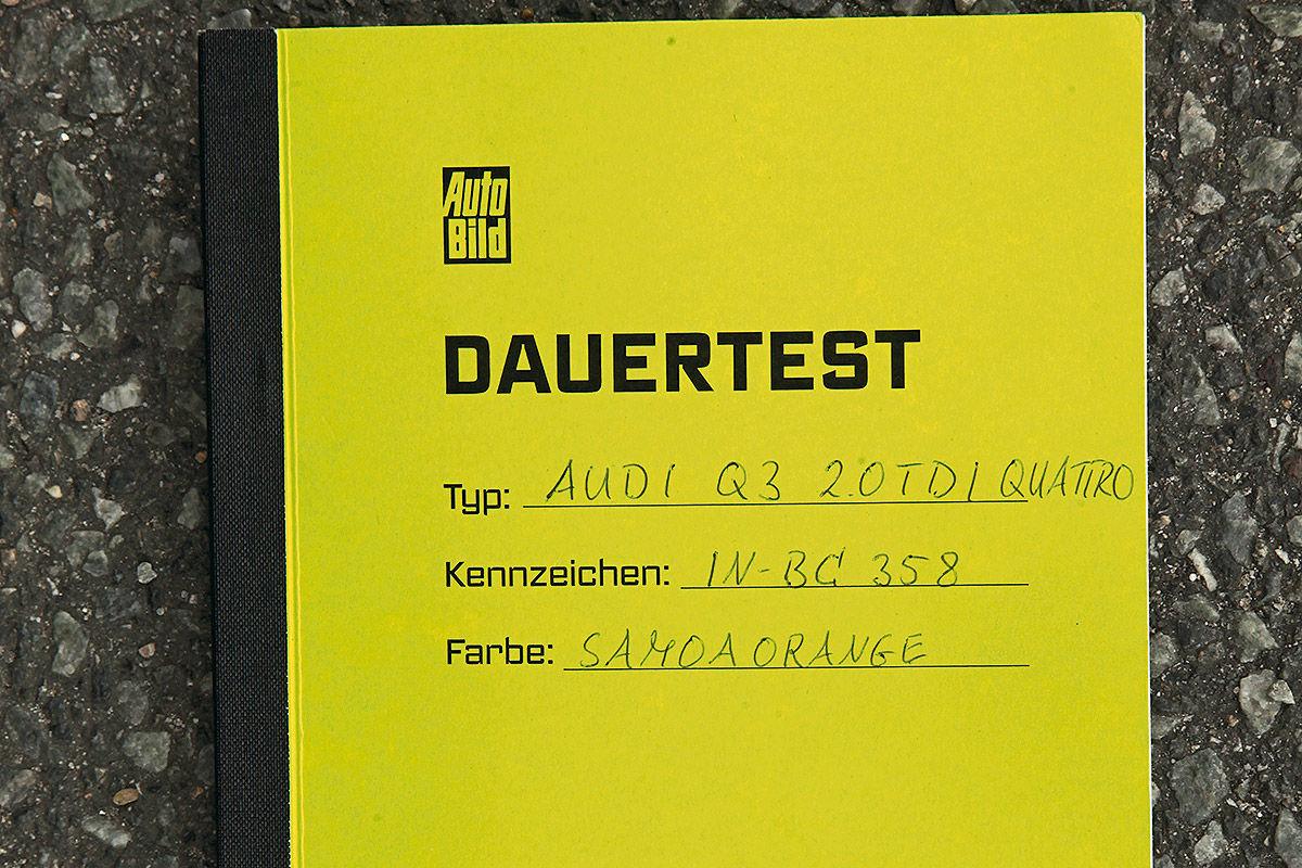 Audi Q3, AUTO BILD-Dauertest