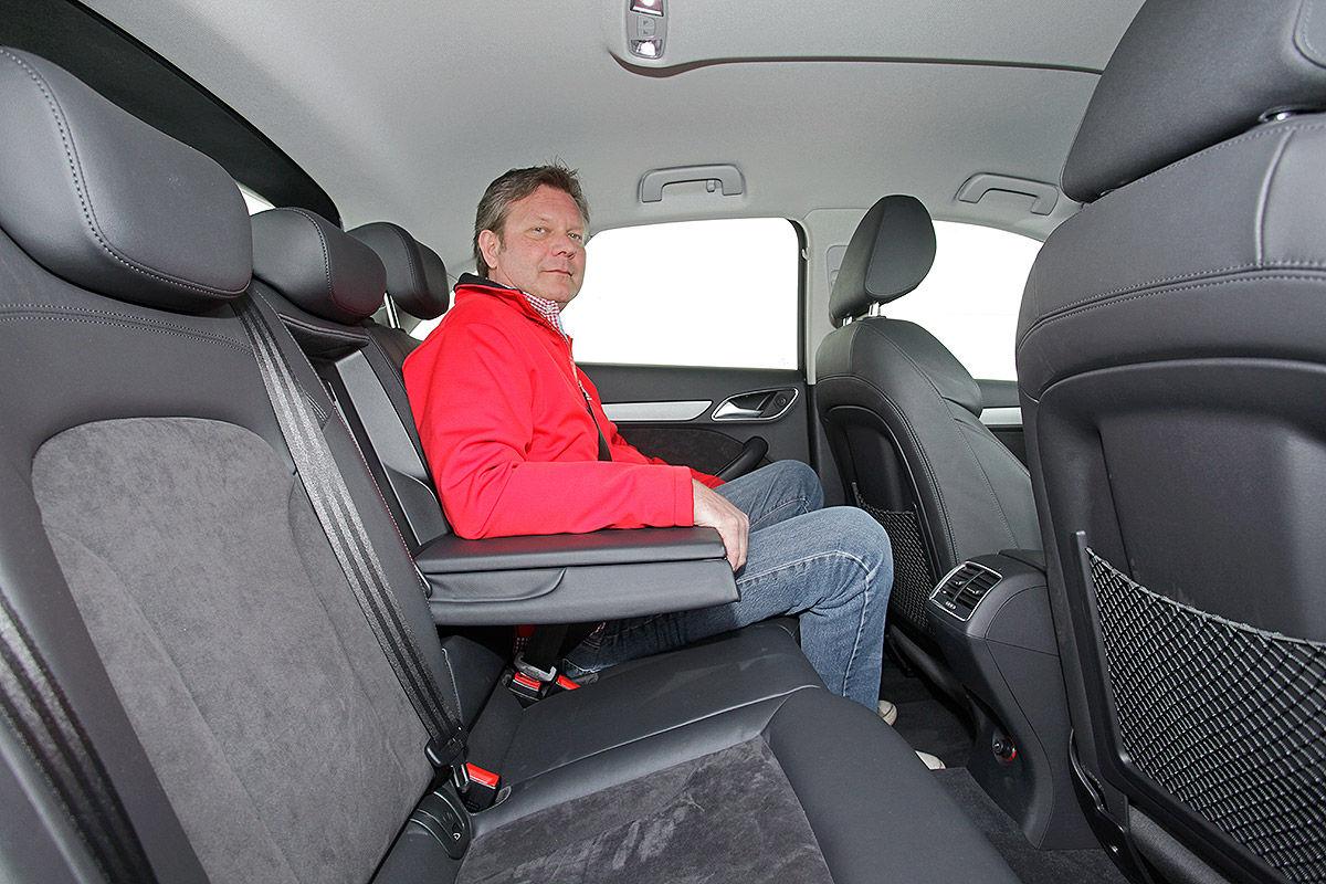Audi Q3, Fond