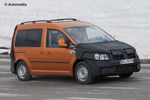 Hier fährt der neue VW Caddy