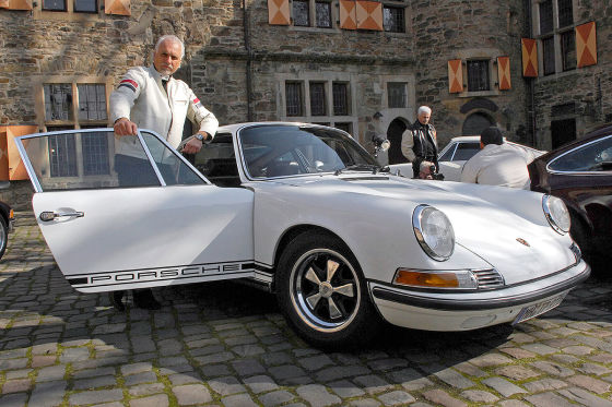 Geklauter Porsche 911 T