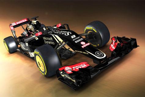 Formel 1 Erste Bilder Vom Lotus E23 Autobildde