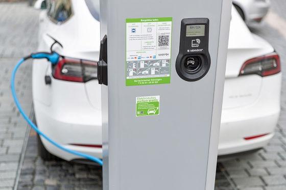 Ladestation - Elektroauto