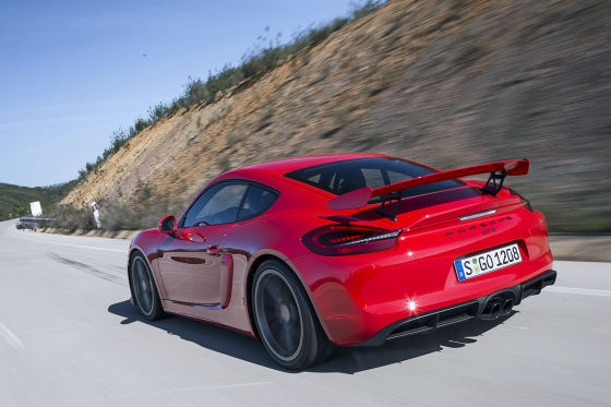 Porsche Cayman GT4
