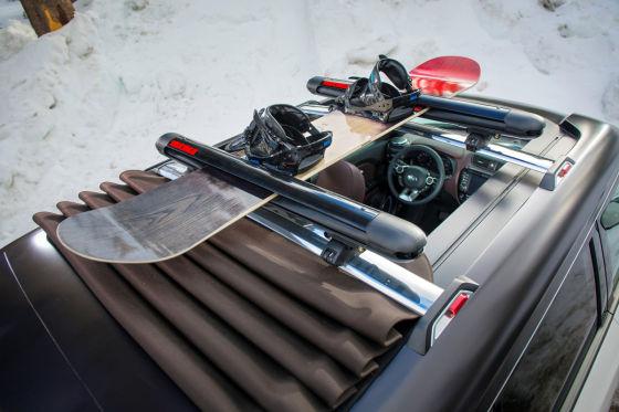 Kia Trailster Dachgepäckträger