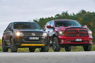 Mächtige Allrad-Pick-ups mit V8