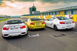 BMW M4 auf Zeitenjagd