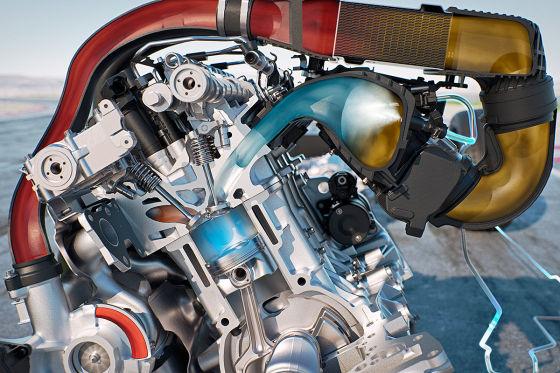 BMW M4-Motor mit Wassereinspritzung