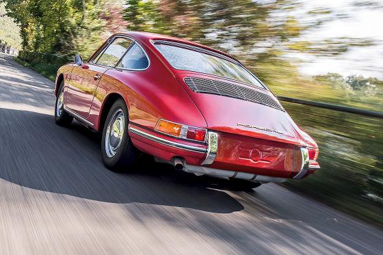 Der Porsche 911 aus der Scheune
