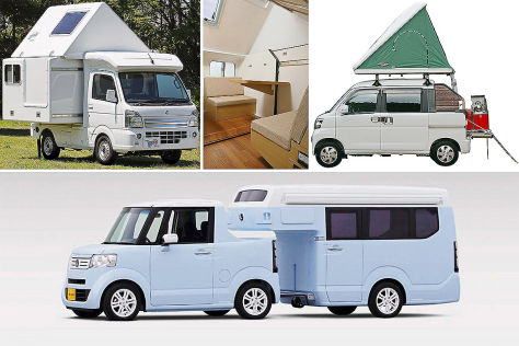 honda n camp und co kei camper aus japan. Black Bedroom Furniture Sets. Home Design Ideas