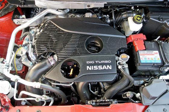 Motor des Nissan Qashqai 1.6 DIG-T