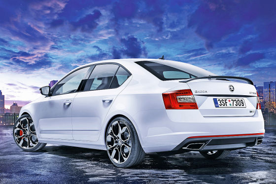skoda octavia rs 230 iaa 2015 preise. Black Bedroom Furniture Sets. Home Design Ideas