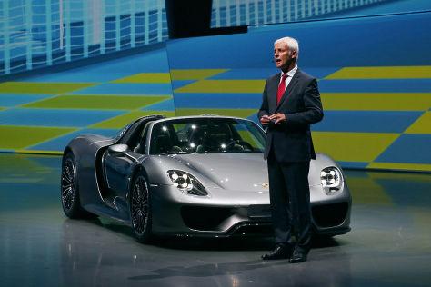 Porsche-Chef im VW-Vostand