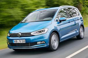 So f�hrt der neue VW Touran
