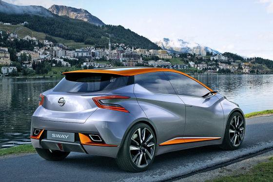 Nissan Sway Concept: Autosalon Genf 2015