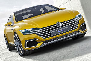 VWs neues Hybrid-Coupé