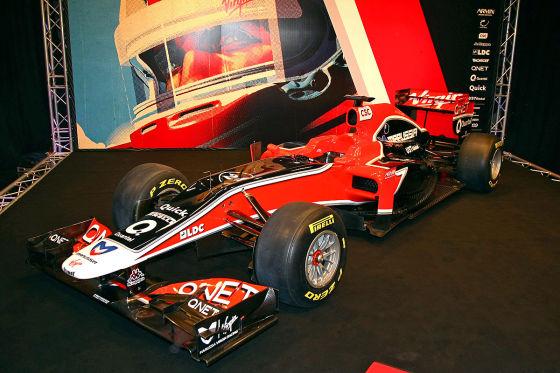 Marussia Virgin Racing MVR-02