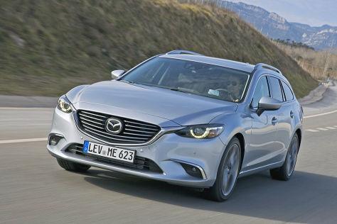 Mazda 6 Kombi Facelift 2015 Fahrbericht Und Marktstart Autobild De