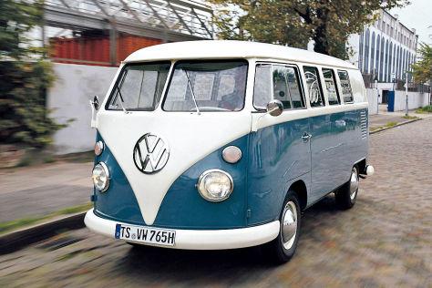 65 jahre vw transporter t1 typ 2 produktionsbeginn 1950. Black Bedroom Furniture Sets. Home Design Ideas