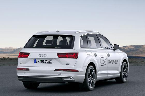 Audi Q7 E Tron 2016 Vorstellung Marktstart Und Preis