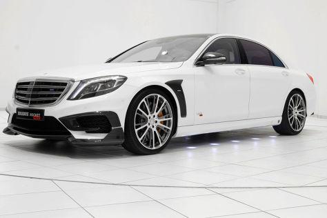 Getunte Mercedes S Klasse Brabus Zeigt In Genf Den Rocket