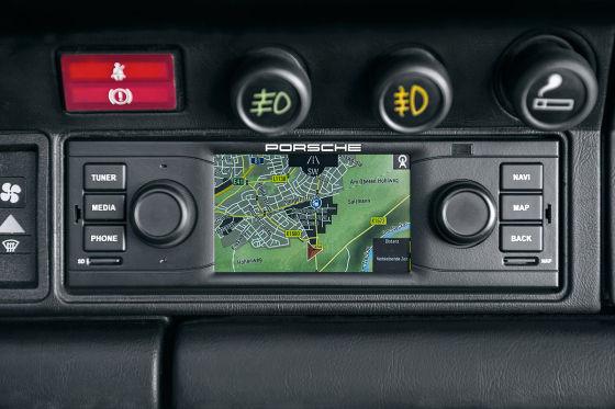 Modernes Navigationsradio Für Porsche Klassiker