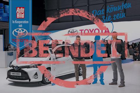 Partneraktion: Toyota Leserreise