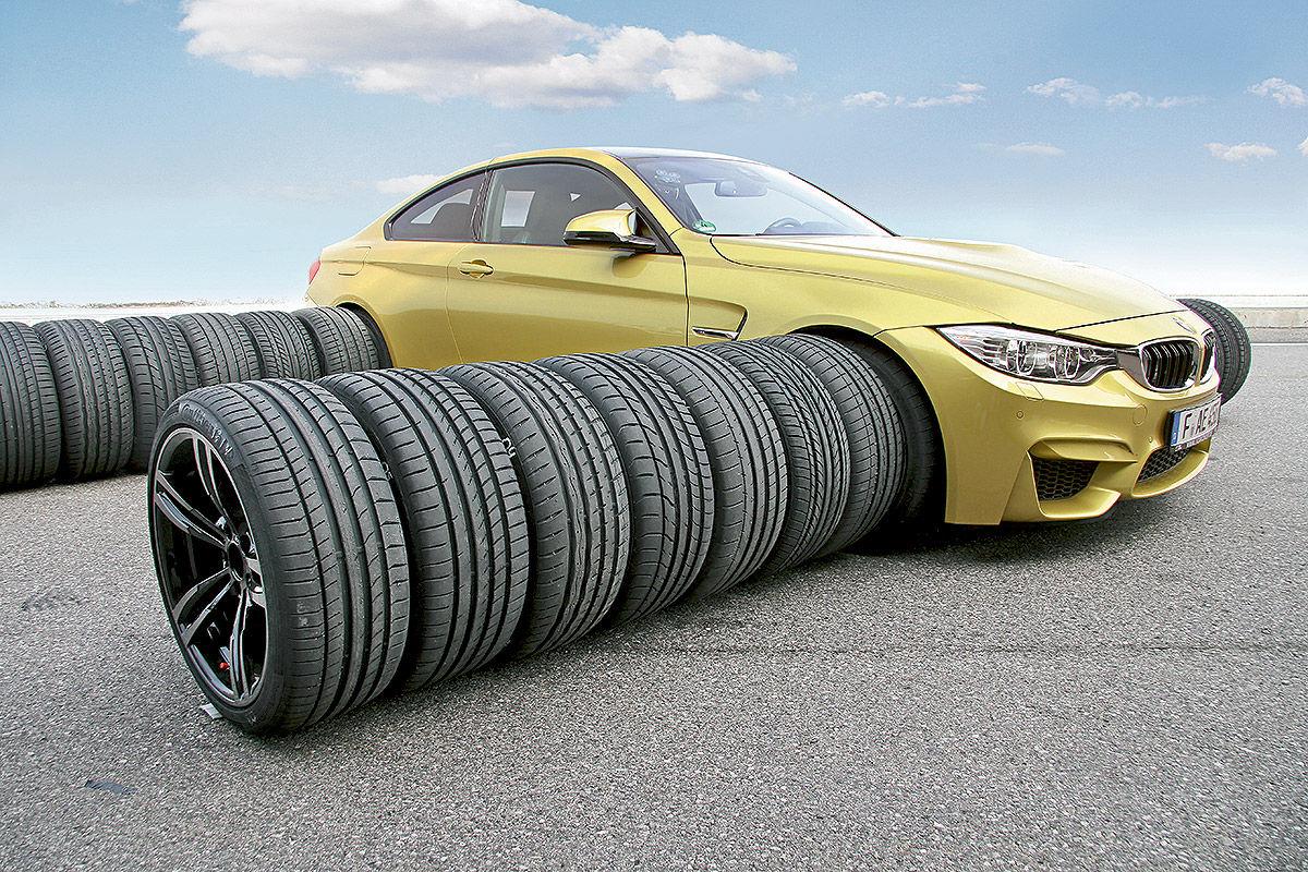 BMW M4, Sommerreifen-Test