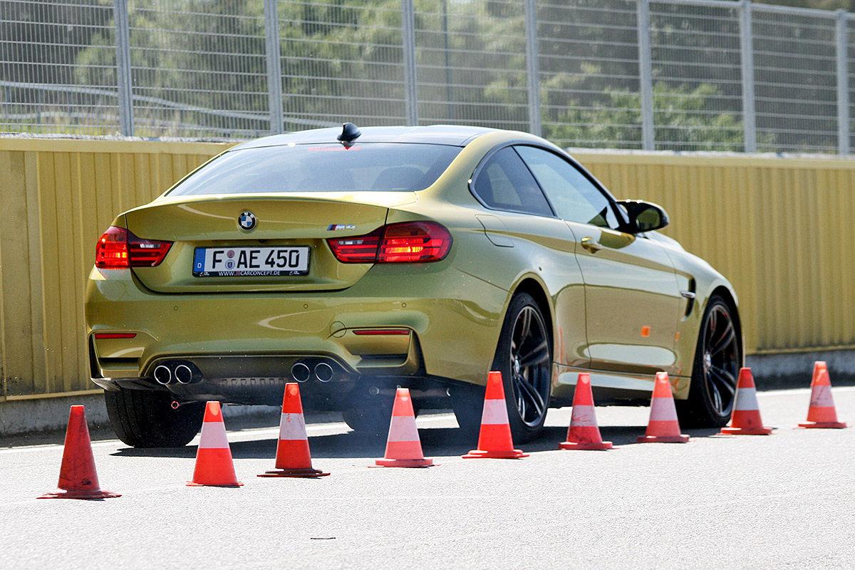 BMW M4, Sommerreifen-Test, Bremsen