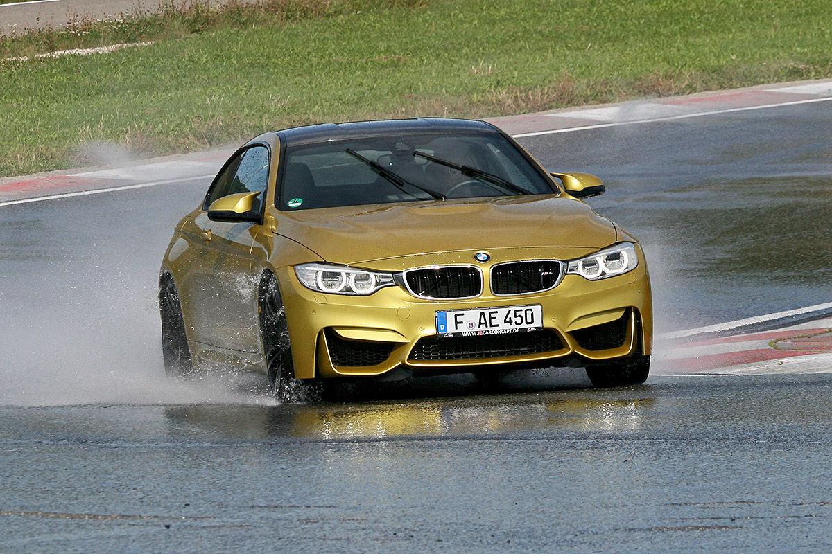 BMW M4, Sommerreifen-Test, Handling bei Nässe