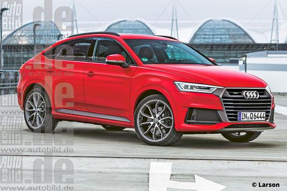 Audi Q6 Illustration