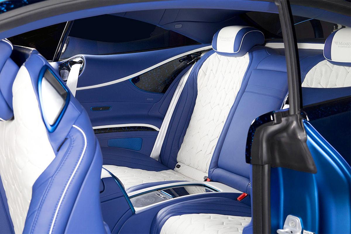 S 63 AMG Coupé Diamond Edition von Mansory